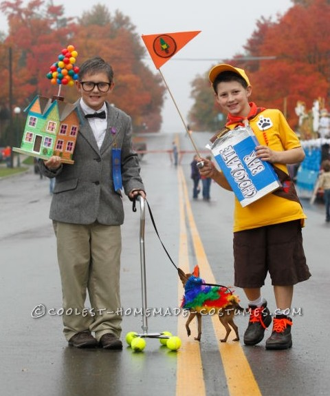 "Cool Homemade Costumes for Kids: Characters from Disney's ""Up"""