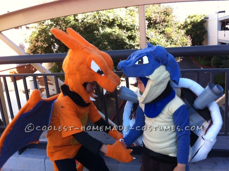 Coolest Charizard and Blastoise Costumes for Boys - 2