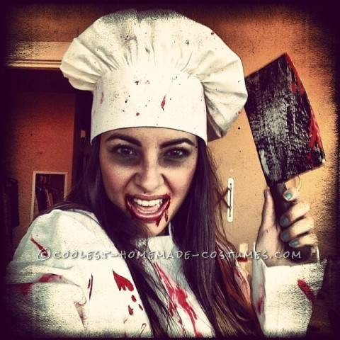 Macabre Chef and Her Best Dish Yet Costume