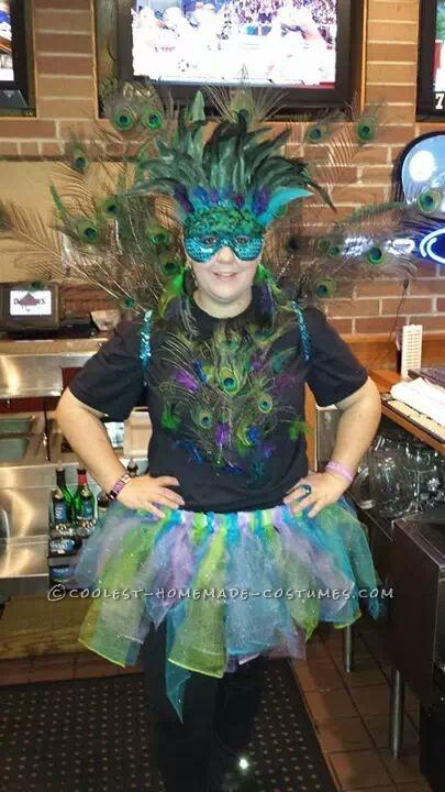 Cool Homemade Peacock Costume
