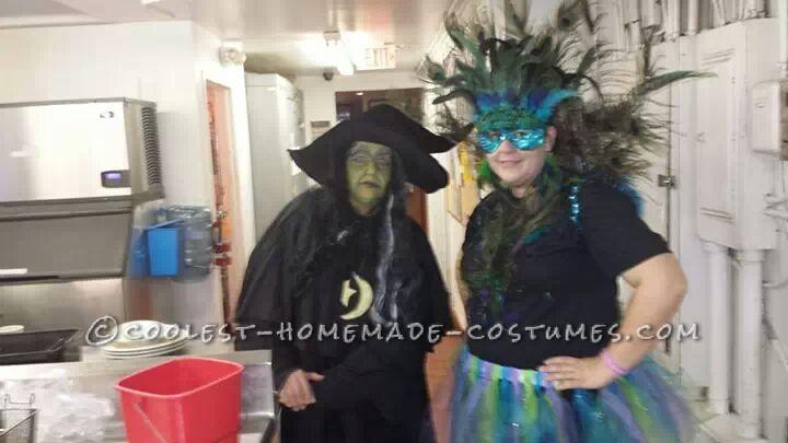 Cool Homemade Peacock Costume - 1