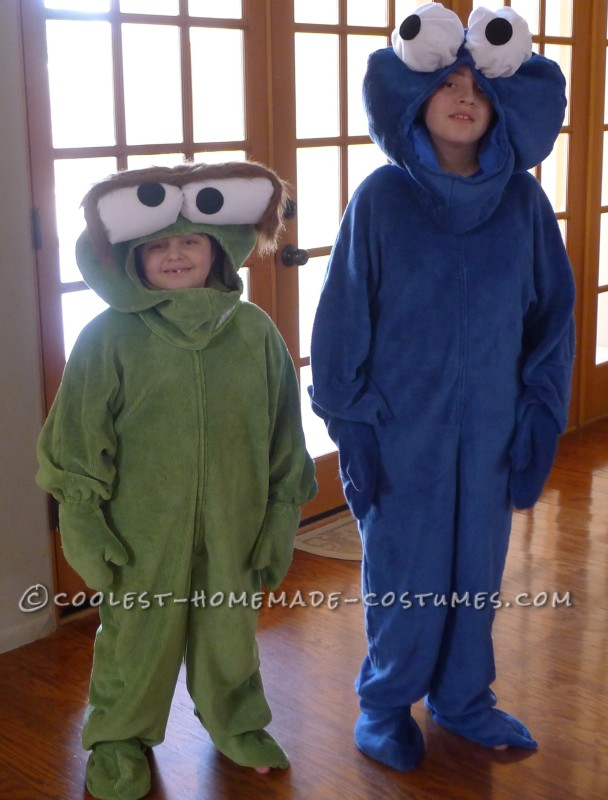 Coolest Cookie Monster And Oscar The Grouch Costumes