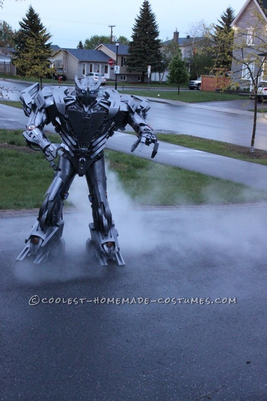 Crazy Autobot Silverbolt Costume - 3