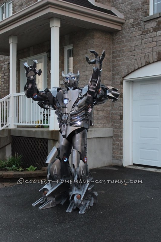 Crazy Autobot Silverbolt Costume - 4