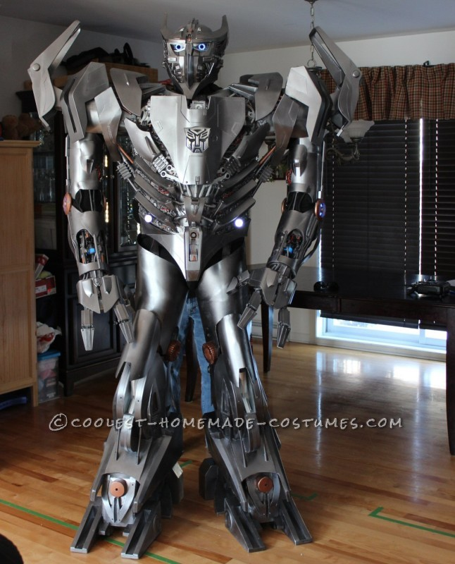 Crazy Autobot Silverbolt Costume