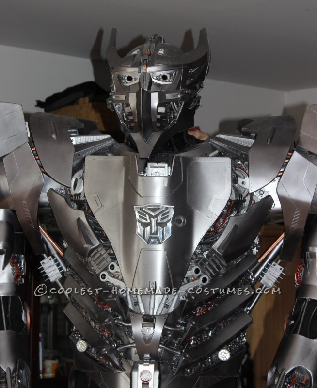 Crazy Autobot Silverbolt Costume - 7