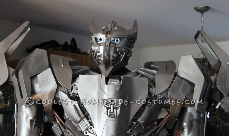 Crazy Autobot Silverbolt Costume - 8