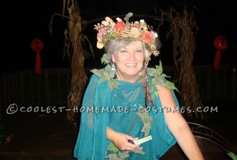 Easy Homemade Mother Nature Costume for Women