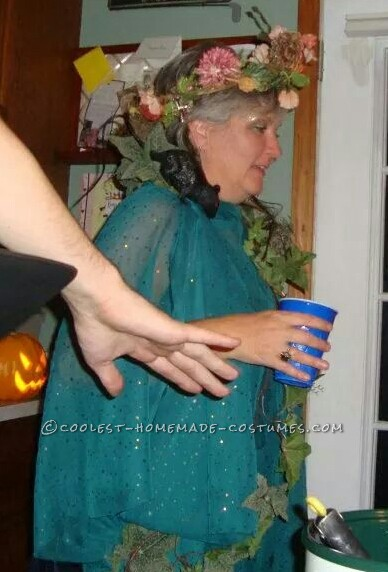 Easy Homemade Mother Nature Costume for Women - 1