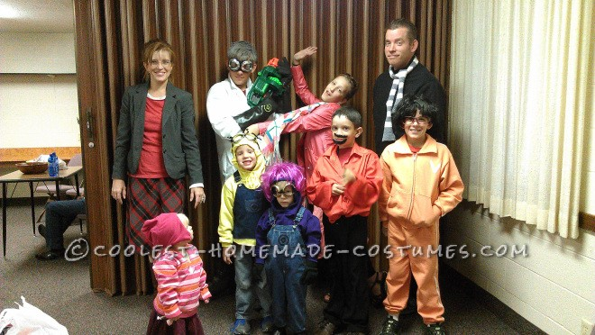 Cool Despicable Me Family Costume