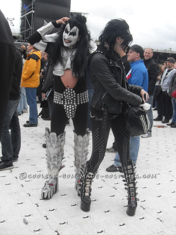 Gene Simmons Costume Homemade - 2