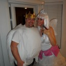Couple Costume Idea: Giant Tooth with a Crown and Tooth Fairy