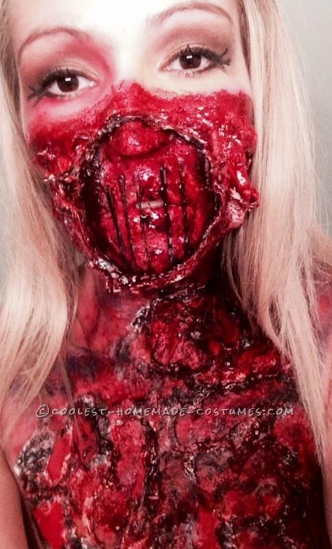 Creepiest Glam Meets Gore Costume