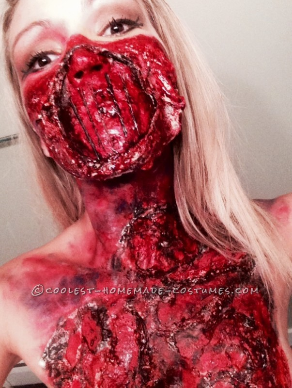 Creepiest Glam Meets Gore Costume - 2