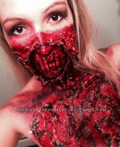 Creepiest Glam Meets Gore Costume