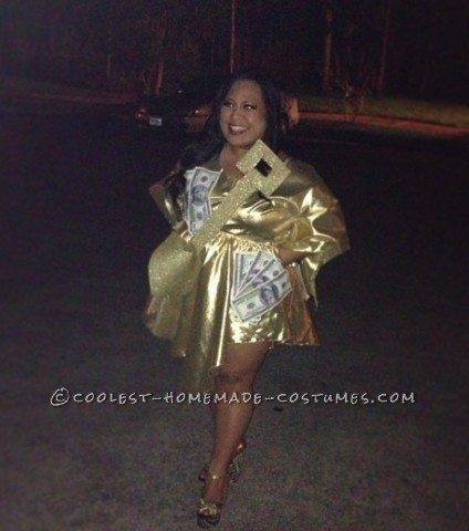 Cool Gold Digger Costume