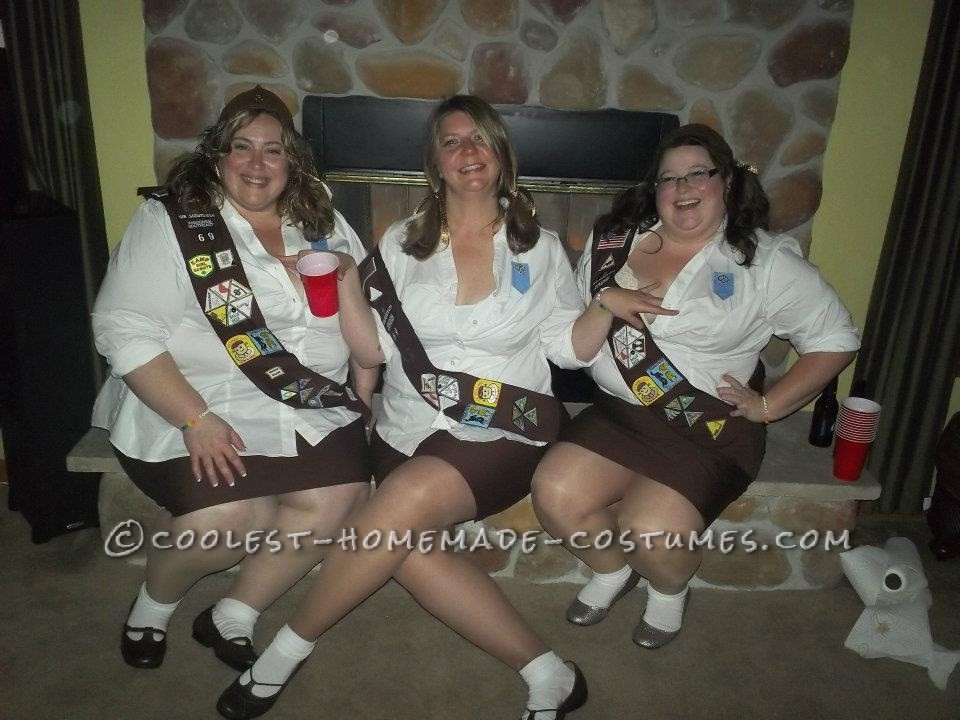 Cool Group Costume Girl Scout And Boy Scout Troop