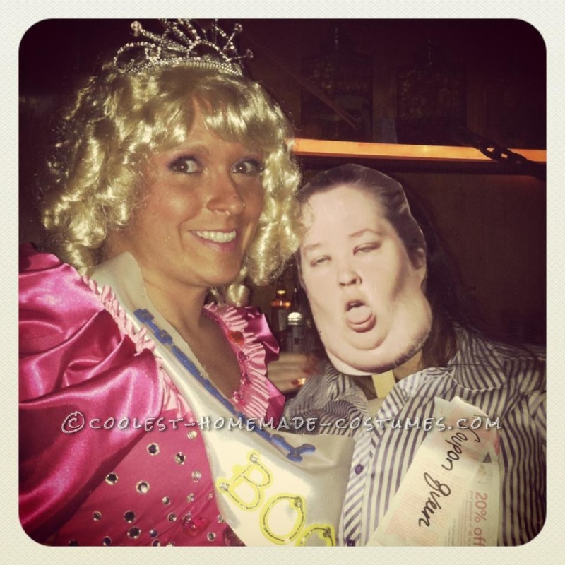 Cool Homemade Costume for Groups: Here Comes Honey Boo-Boo