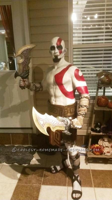 Kratos The God of War Costume