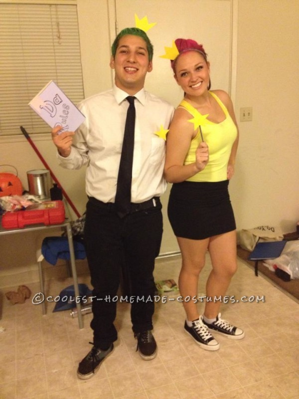 Last Minute Fairly Odd Parents Costume