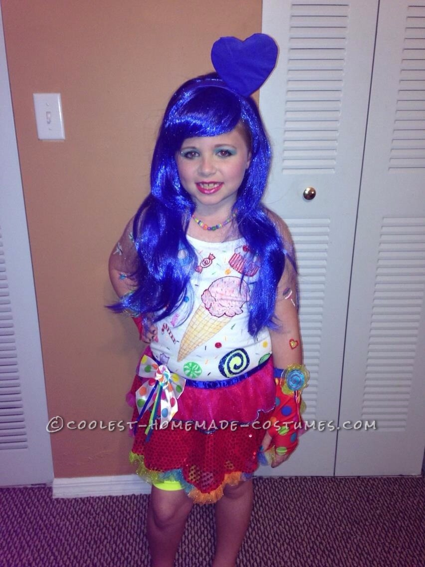 Last Minute Katy Perry Costume for a Girl