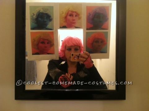 Original Costume Idea: Lost Andy Warhol Painting