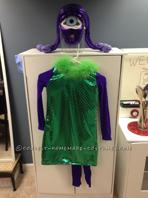 Monsters Inc Family Costume - 2