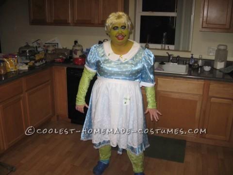 Funny Mucinex Lady Plus-Size Costume