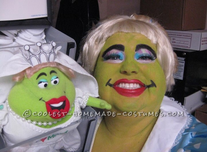 Funny Mucinex Lady Plus-Size Costume