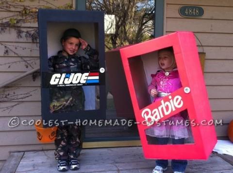 New in the Box G.I. Joe and Barbie Costumes