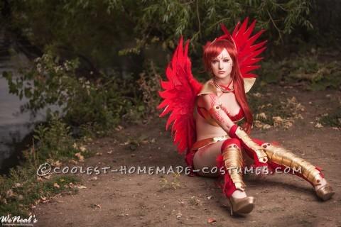 Beautiful Homemade Pheonix Costume