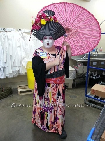 Plus Size Geisha Costume