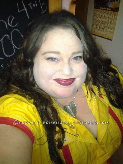 Cool Plus Size Max Costume From 2 Broke Girls