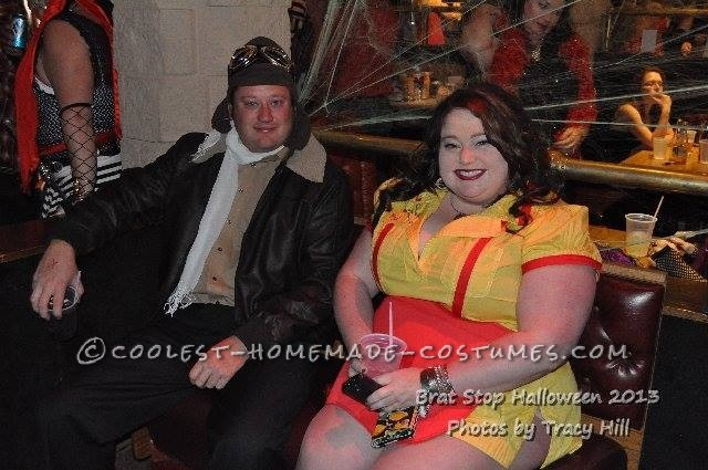 Cool Plus-Size Max Costume from 2 Broke Girls