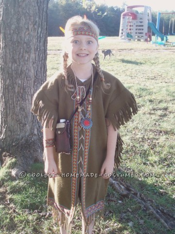 Prettiest Indian Princess Costume Ever