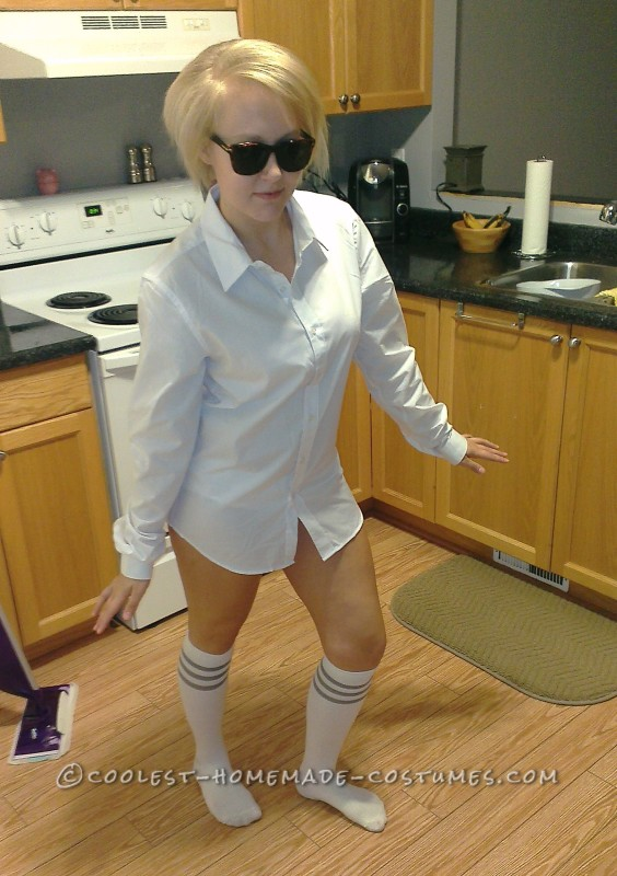 Last-Minute Sexy Risky Business Costume
