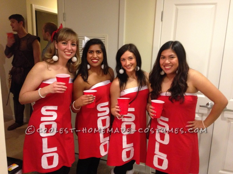 Cool Solo Cup Girl Group Costume