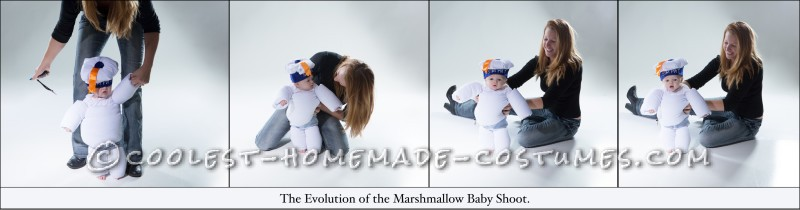 Evolution of Marshmallow Baby