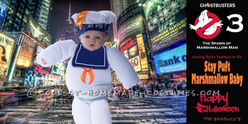 Marshmallow Baby Halloween Card