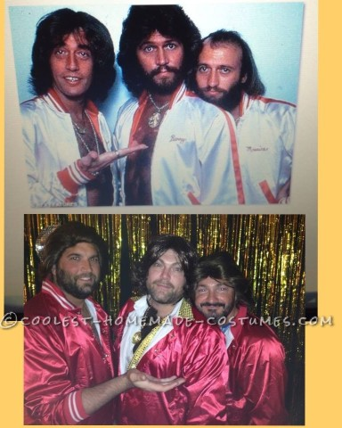 Contest-Winning Bee Gees Group Costume for Men