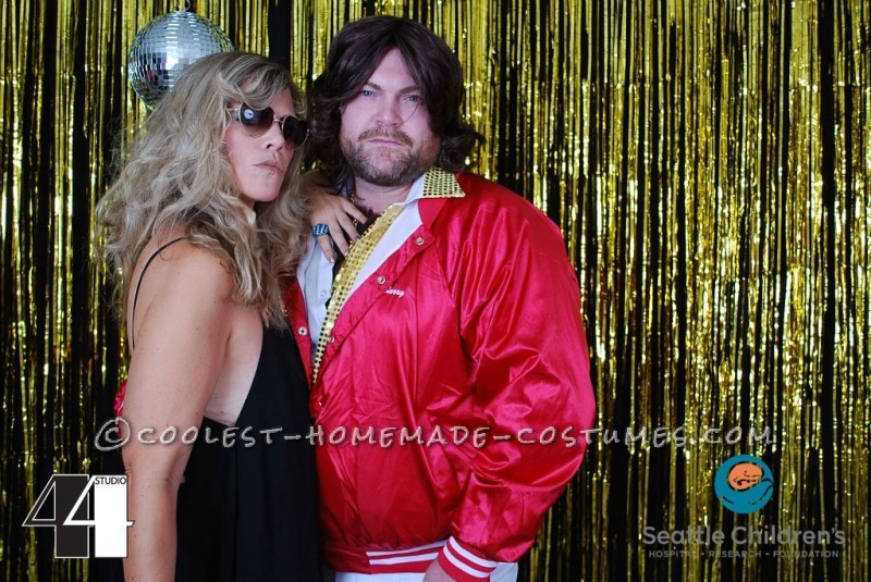 Barry Gibb and his chick