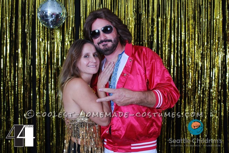 Maurice Gibb and his chick