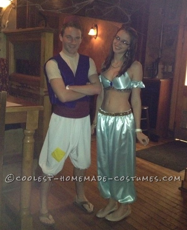Super Awesome Aladdin and Jasmine Couple Costume