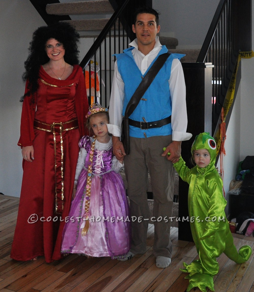 Cool Tangled Family Costume