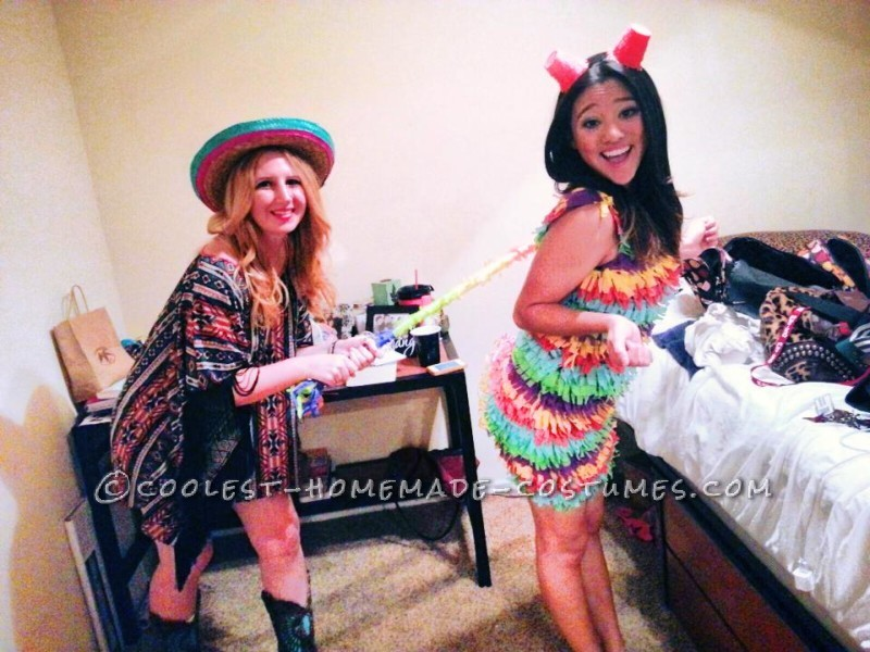 The Best DIY Pinata Costume Ever!