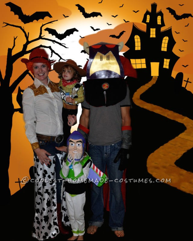 Coolest Toy Story Homemade Family Costume