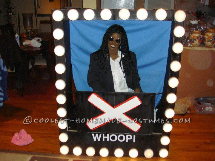 "Original Costume Idea: Whoopie Goldberg in a ""Hollywood Square"""