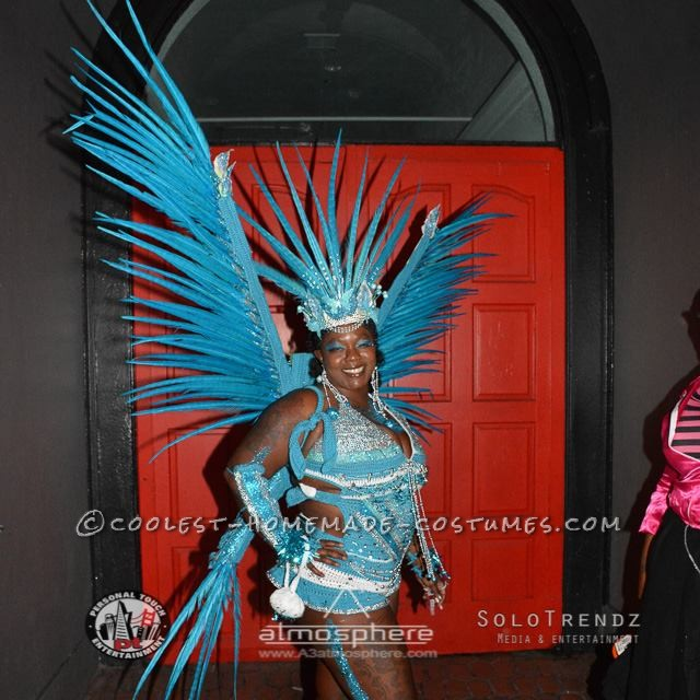 Pretty Rio Blue Macaw Costume