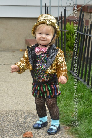 Cutest Toddler Rocky Horror Picture Show Columbia Costume