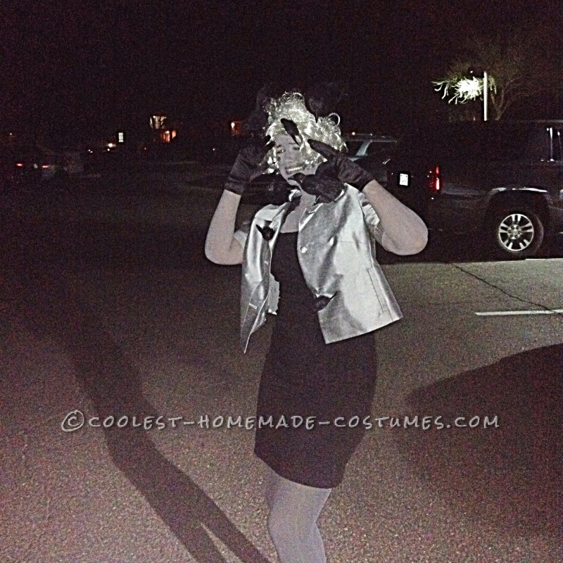 Cool Grayscale Costume: 1963 Alfred Hitchcock's The Birds